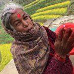 2019ネパール旅⑤『スタッフの実家のある村へ』・・・ヤギとアマ(お母さん)のセルロティ