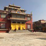 """2019ネパール旅⑥『チベットの新年を祝う""""チャム""""』・・・ボウダナートのシェチェン寺院へ"""