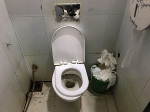 空港 トイレ