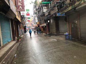 雨 カトマンズ